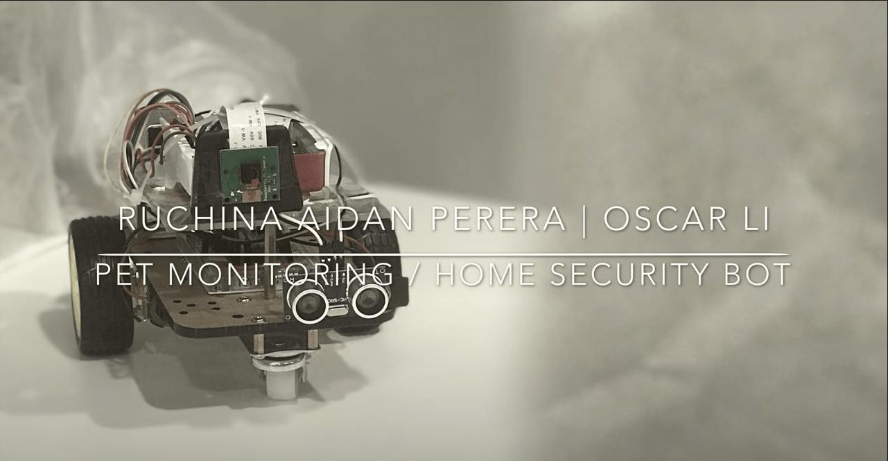 Pet Monitoring / Home Security Bot Raspberry Pi Project | Raidan.com.au