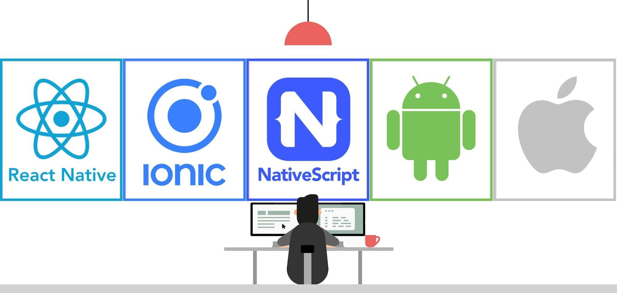 React Native vs Ionic vs NativeScript vs Android/iOS Native for App Development   Raidan.com.au