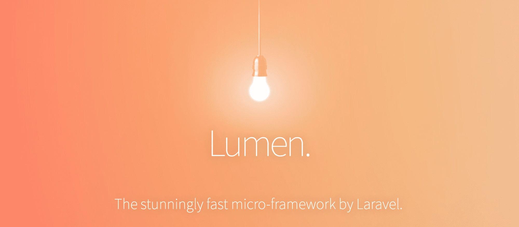 Lumen by Laravel   Raidan.com.au